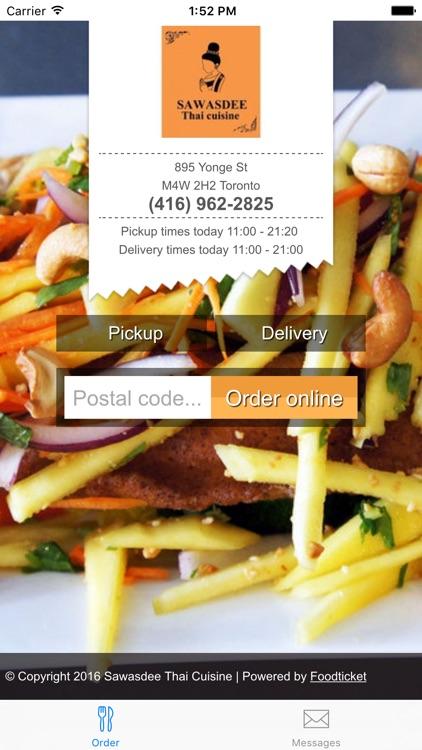 Sawasdee Thai Cuisine By Foodticket Bv