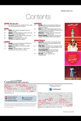 Communicate Levant (mag) - náhled