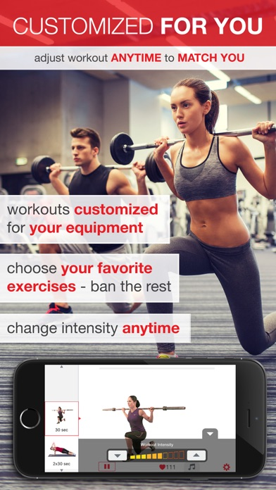7 Minute Workout - Beginner to Advanced High Intensity Interval Training (HIIT) Screenshot
