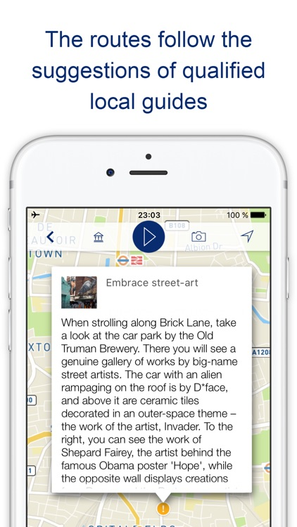 My London Travel guide with audio-guide walks (UK) screenshot-4
