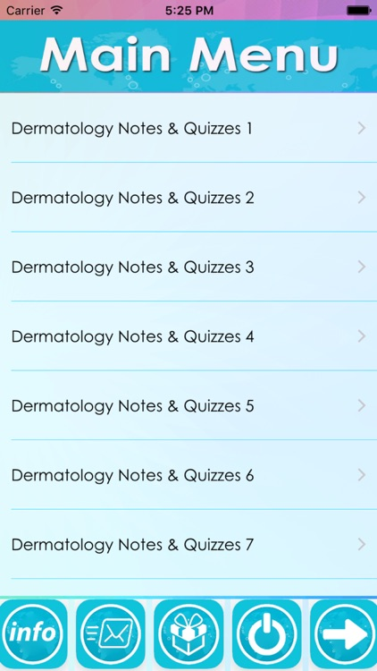 Dermatology Exam Review : 7200 Quiz & Study Notes screenshot-3