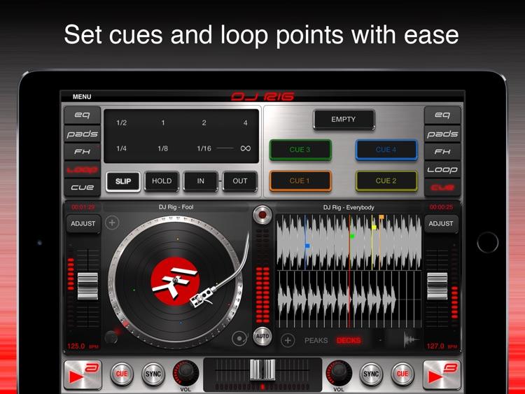 DJ Rig FREE for iPad screenshot-3