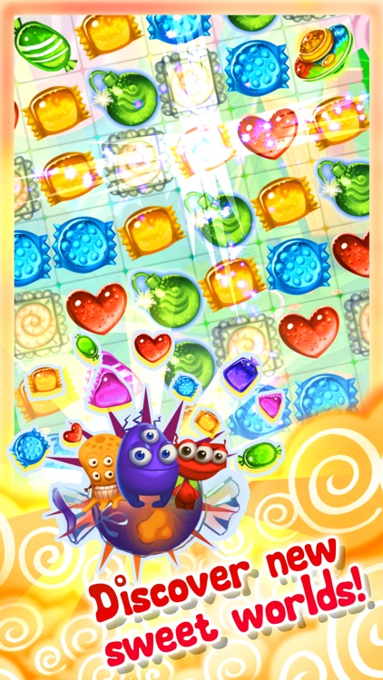 Candy UFO - match 3 puzzle game