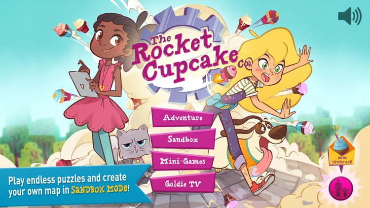 GoldieBlox: Adventures in Coding - The Rocket Cupcake Co. screenshot-3