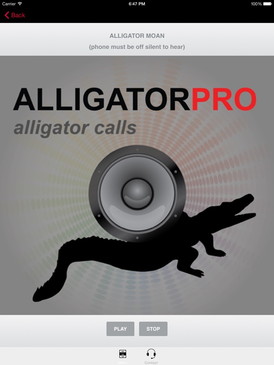REAL Alligator Calls & Alligator Sounds (ad free) BLUETOOTH COMPATIBLE screenshot-0