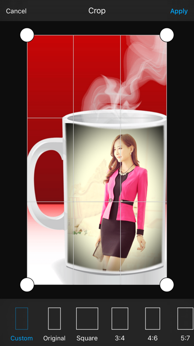 Coffee Cup Photo Frame & Photo Editor screenshot four