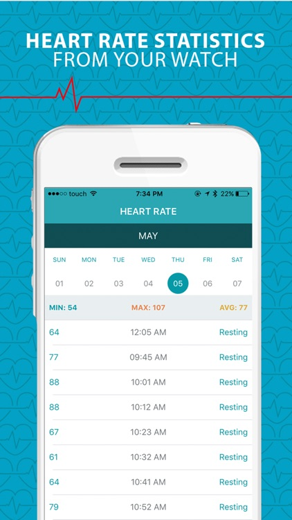 HeartStats For Data collected From Watch & other wearables