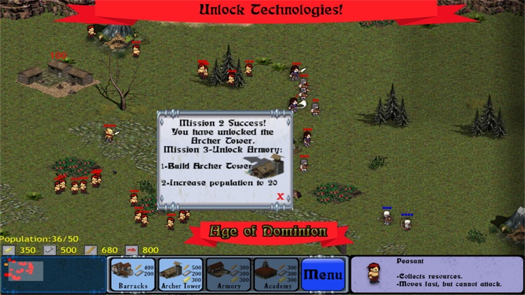 Age of Dominion RTS: Command your Empire! screenshot-3