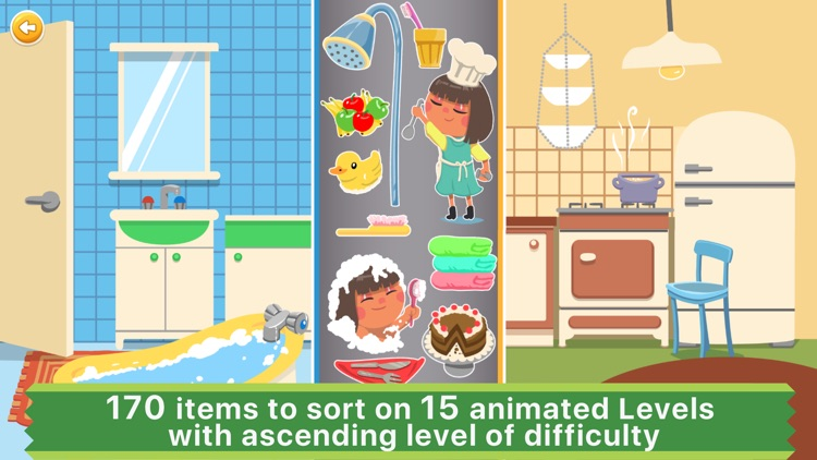 Sorting & Matching Puzzles Games for Toddler Kids screenshot-0