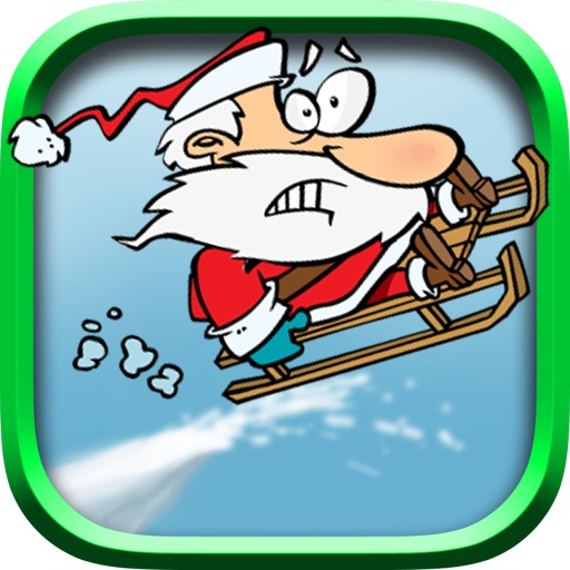 Santa's Sled Can Barely Fly - Fun Games For Kids
