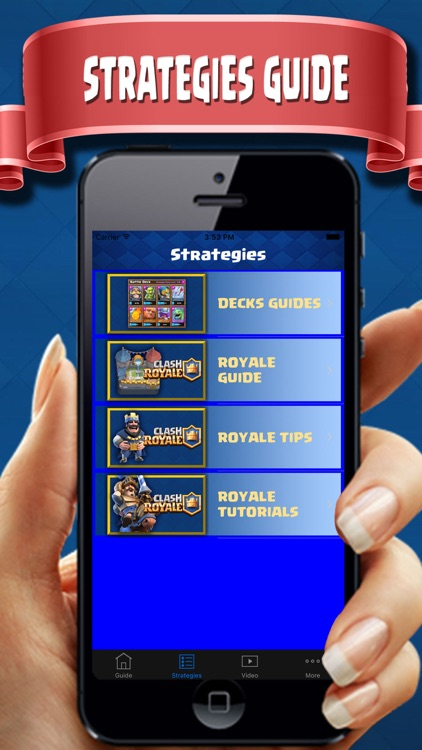 Complete Guide  for Clash Royale - Deck Builder, tipster, Strategies & Tactics pro!