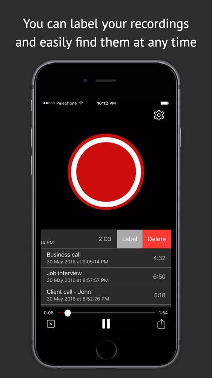 Best Call Recorder Pro screenshot-3