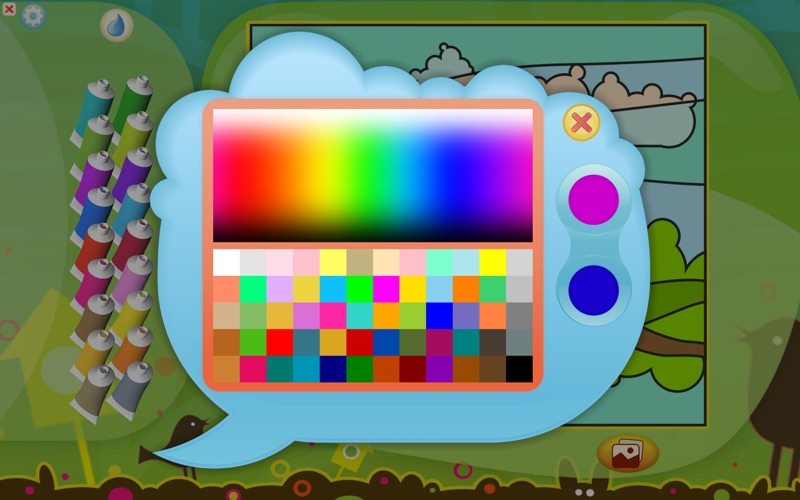 Color by Numbers - Animals - Free Screenshot