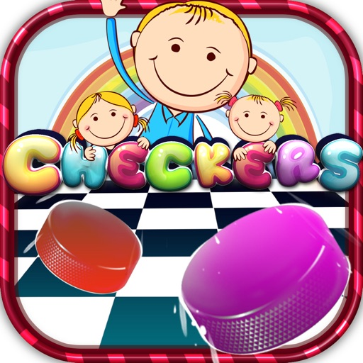"""Checkers Boards Puzzle Pro - """" Easy Draw with Kids Games"""