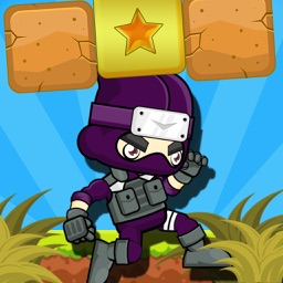 NINJA SIDE 2D (A platform jump n shoot game)