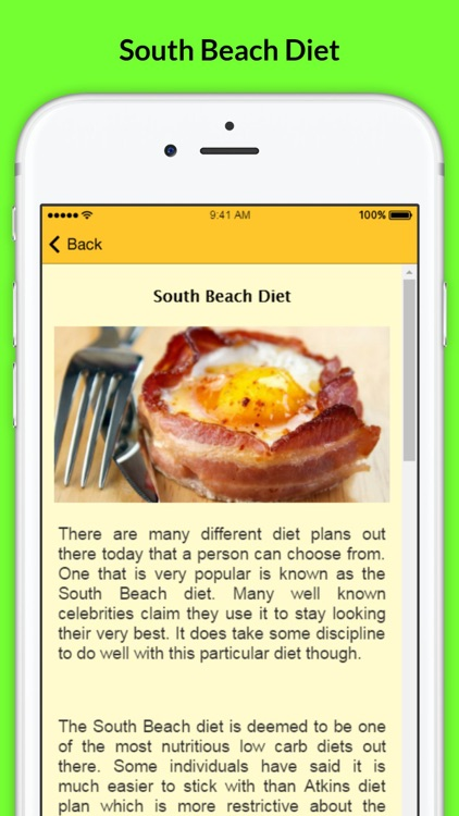 South Beach Diet - Diet Weight Loss Plans + Recipes screenshot-3