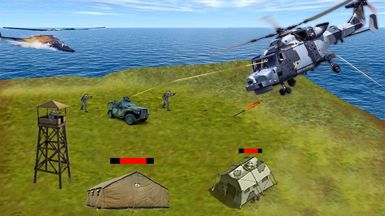 Gunship Air Helicopter War 3D
