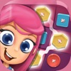 Buttons Match 3 Puzzle Game: Crazy Color.s Link.ing Mania and Infinite Blast Adventure