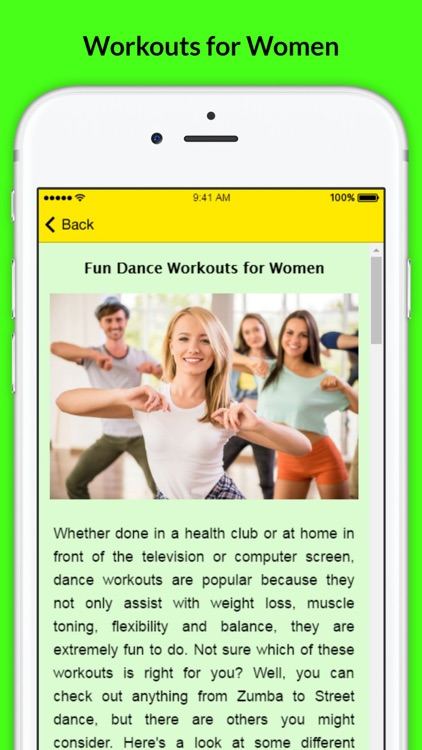 Womens Workout - Fun Dance Workouts for Women screenshot-3