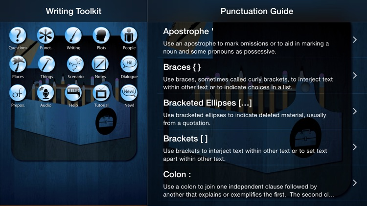Writing Toolkit HD screenshot-3