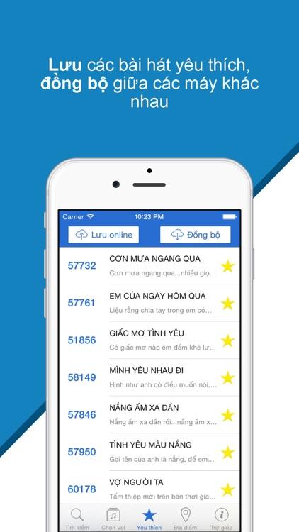 Karaoke Mobile - Tìm mã số bài hát 5, 6 số karaoke Arirang, MusicCore screenshot-3