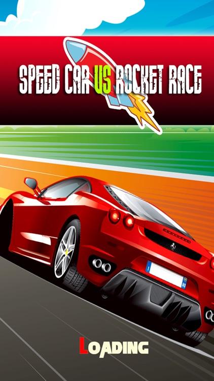 Super Car Speed Vs Rocket Racing Games