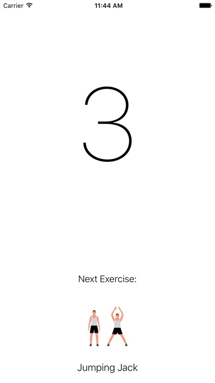 Seven Minute Workout Exercise screenshot-3