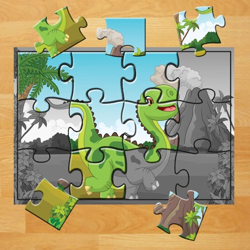 Dino Jigsaw Puzzle Educational Learning Games For Kids And Toddler Iphone Ipad Game Reviews Appspy Com