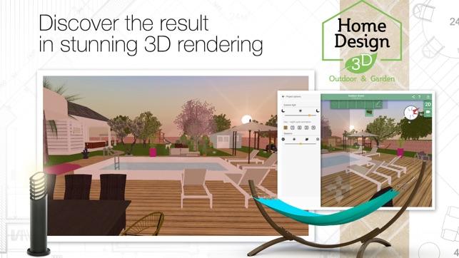 home design 3d outdoor garden on the app store - House Design 3d App
