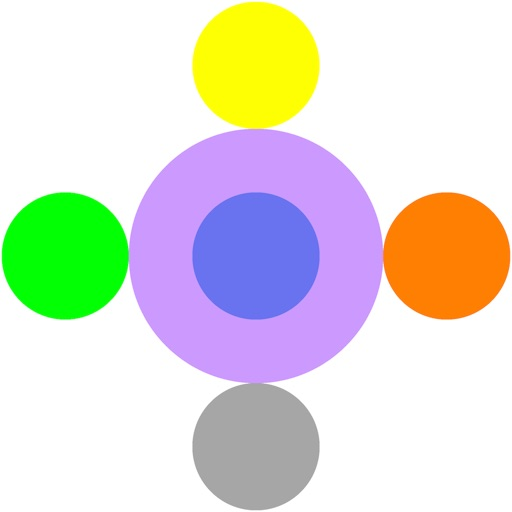 Dot Running - Rush in Circle, Color Change iOS App