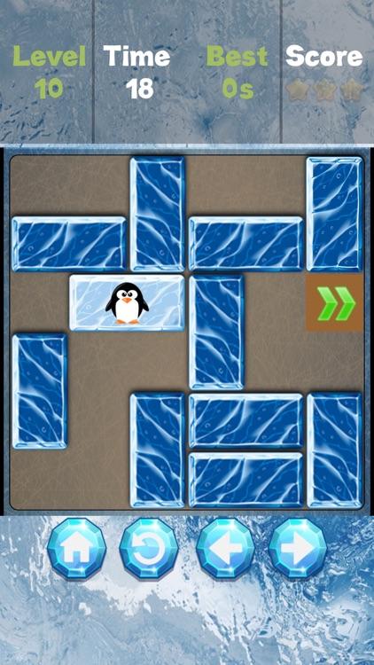 Unblock the Ice! - sliding puzzle screenshot-4