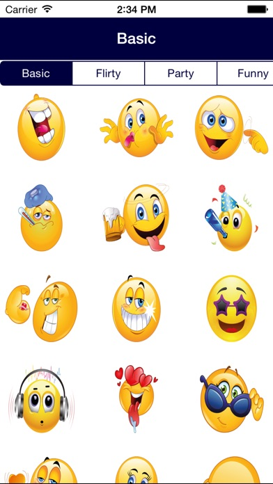 Sexual smiley faces symbols for texting