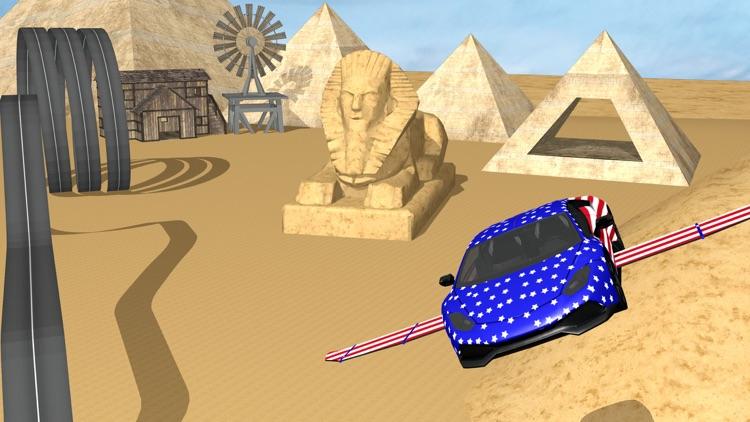 Flying Racing Rivals Sports Car Drifting screenshot-3