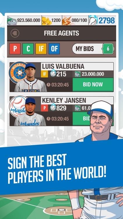 Baseball General Manager 2016 - Major League Fantasy Mobile App