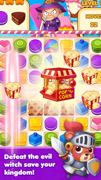 Magic Cookie - 3 match puzzle game screenshot-3