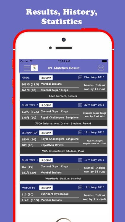 IPL 2018 Schedule screenshot-3