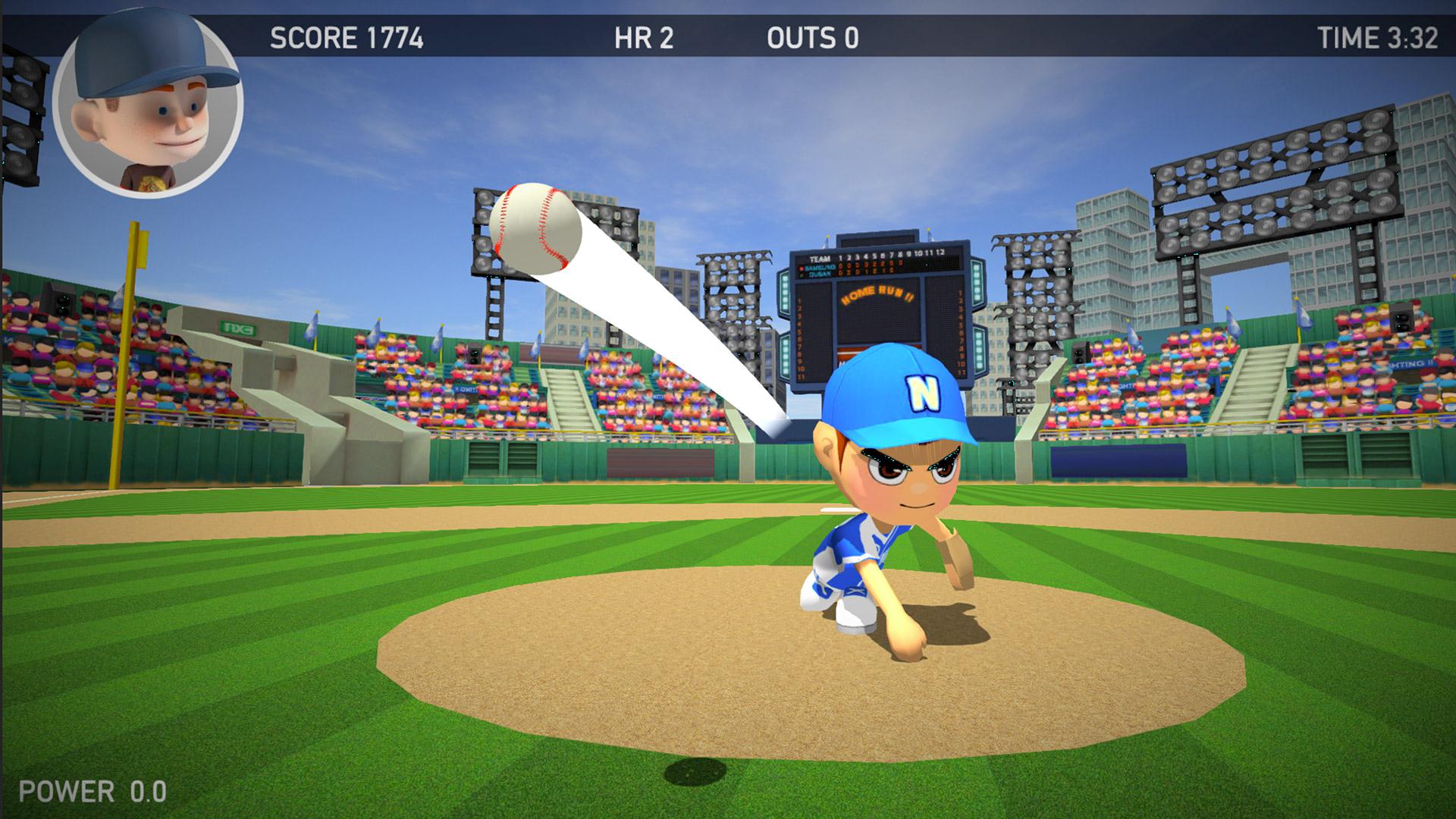 Baseball Games 2016 - Big Hit Home Run Superstar Derby ML screenshot 2