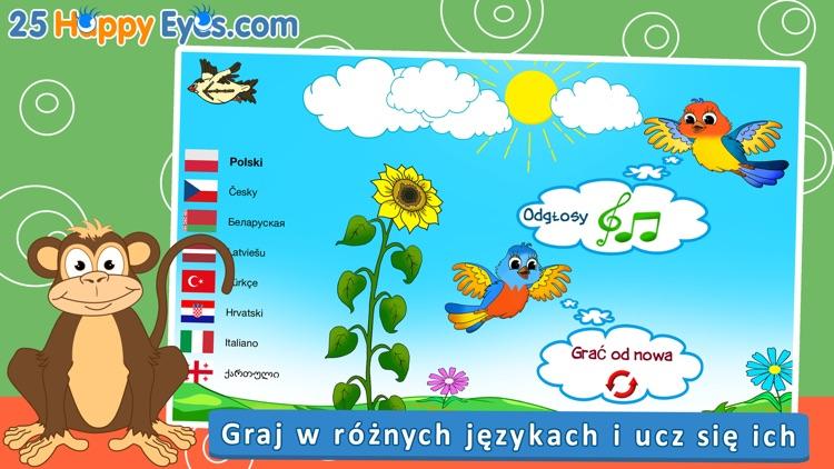 Wesołe zwierzęta - edukacyjne gry układanki,dzieci screenshot-4
