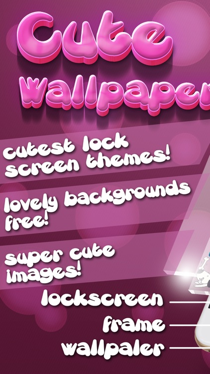 Cute wallpapers for Girls – Beautiful Custom Lock Screen Themes and Girly Backgrounds for Free