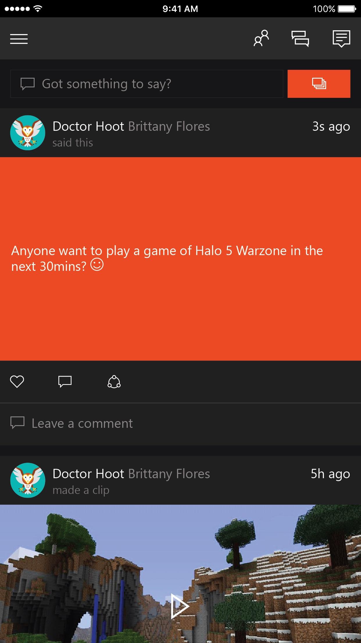 Xbox Screenshot