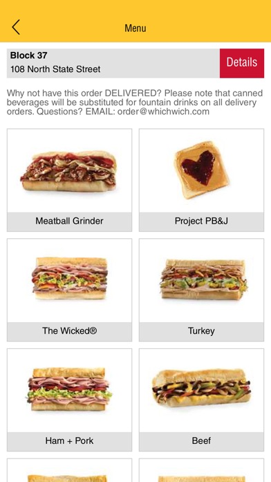Which Wich Superior Sandwiches for Windows