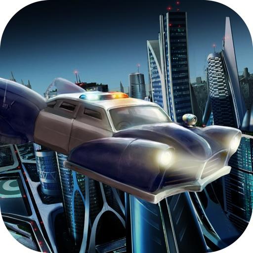 Flying Police Car Simulator 2016