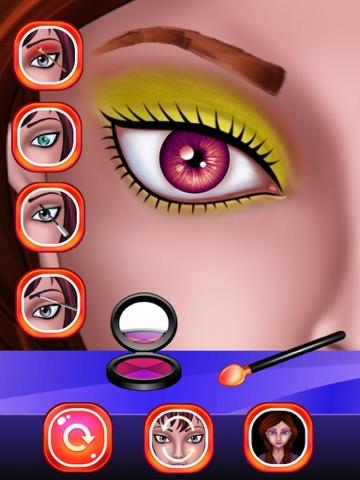 макияж глаз Салон красоты для девочек  макияж для девочек и детей ! на iPad