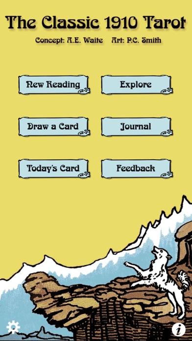 Tarot review screenshots