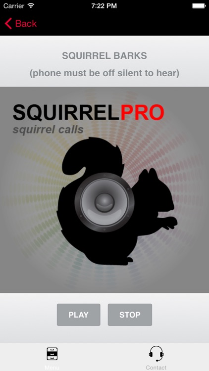 Squirrel Calls - Bluetooth Compatible - Ad Free