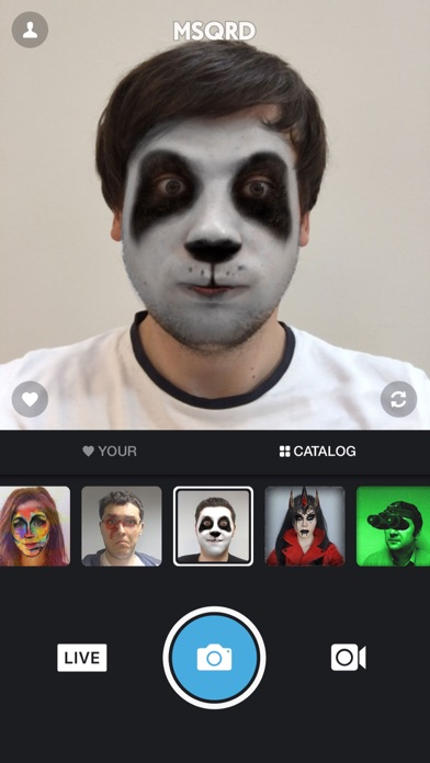 MSQRD — Live Filters & Face Swap for Video Selfies-0
