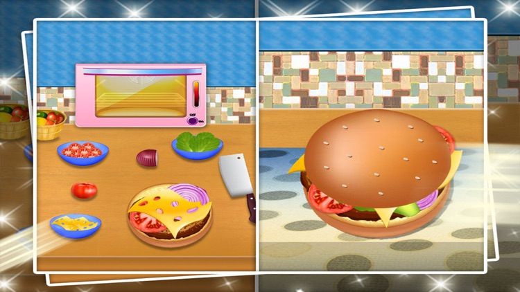 mom's cooking fever mania : free cooking games for kids screenshot-4
