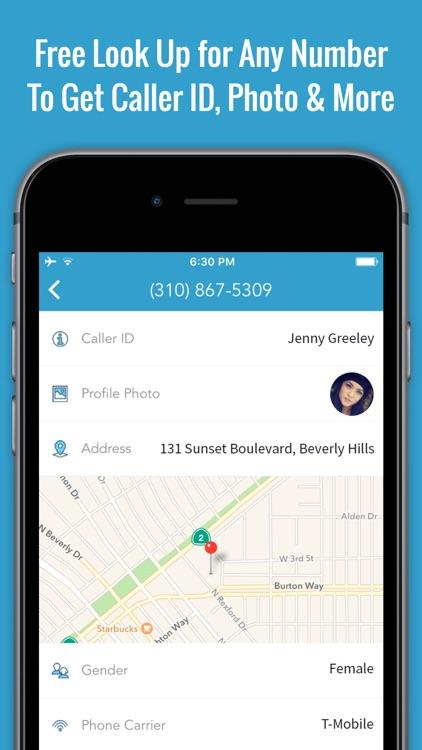 Reverse Caller ID Lookup & Free Phone Book App