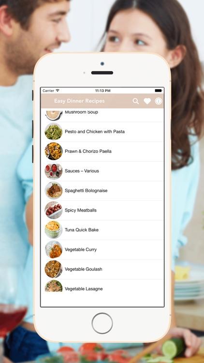 Easy Dinner Recipes & Ideas screenshot-3
