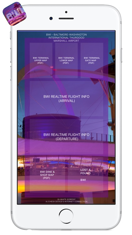 BWI AIRPORT - Realtime, Map, More - BALTIMORE-WASHINGTON INTERNATIONAL AIRPORT